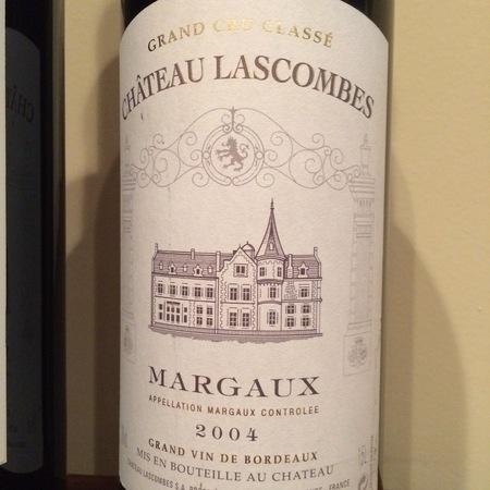 Château Lascombes Margaux Red Bordeaux Blend 2004 (1500ml)