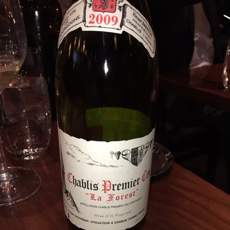 "Vincent Dauvissat ""La Forest"" Chablis 1er Cru Chardonnay 2009"