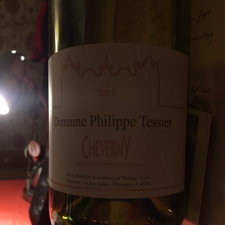 Domaine Philippe Tessier Cheverny Chardonnay Blend 2014