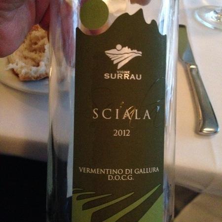 Vigne Surrau Sciala Vermentino di Gallura 2016