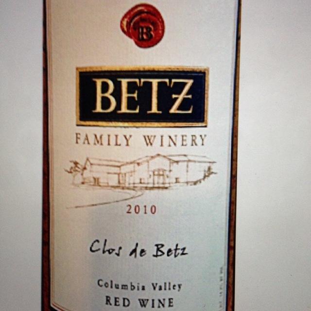 Clos de Betz Red Bordeaux Blend 2010