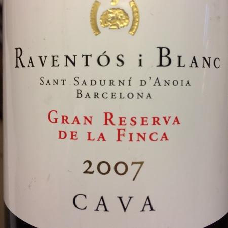 Raventos i Blanc De la Finca Gran Reserva Cava Macabeo-Xarel-lo-Parellada 2013