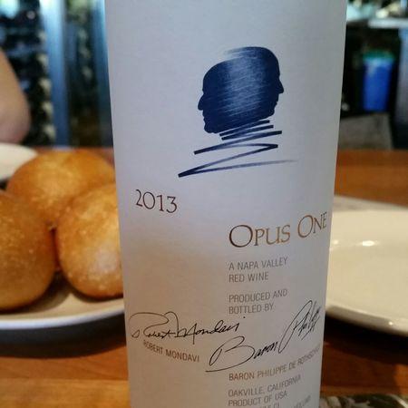 Opus One Napa Valley Cabernet Sauvignon Blend 2013