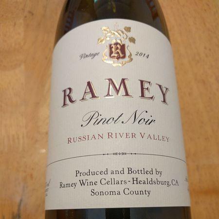 Ramey Wine Cellars Russian River Valley Pinot Noir 2014