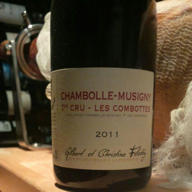 Les Combottes Chambolle-Musigny 1er Cru Pinot Noir 2011