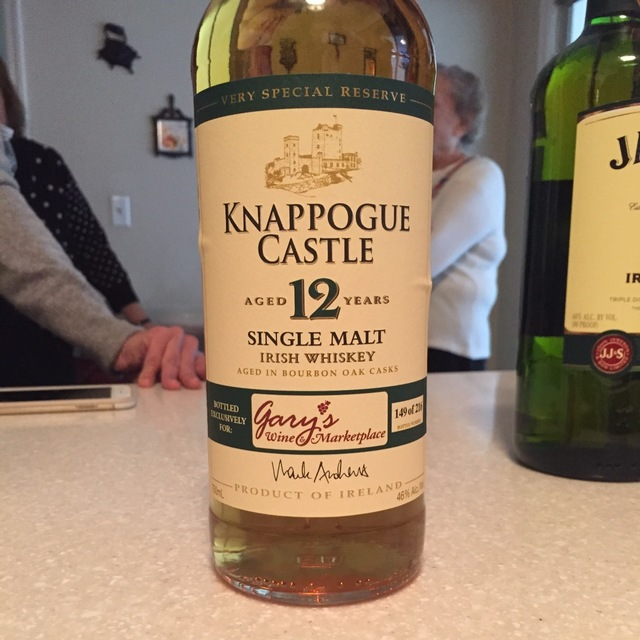 Aged 12 Years Single Malt Irish Whiskey NV