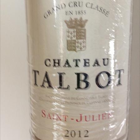 Château Talbot Saint-Julien Red Bordeaux Blend 2012