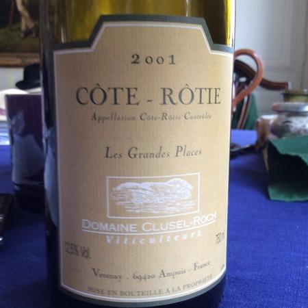 Clusel-Roch Les Grandes Places Côte-Rôtie Syrah 2001