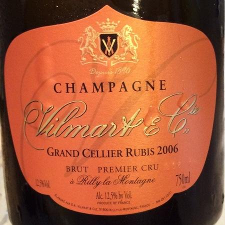 Vilmart & Cie Grand Cellier Rubis 1er Cru Brut Rosé Champagne 2010