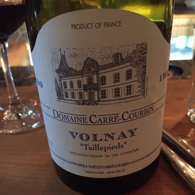 Taillepieds Volnay 1er Cru Pinot Noir 1999
