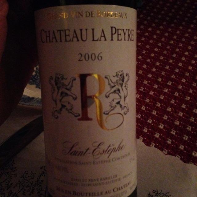 Saint-Estèphe Red Bordeaux Blend 2006