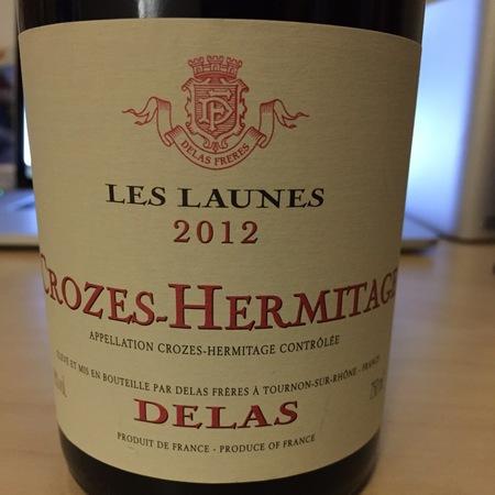 Delas Frères Les Launes Crozes-Hermitage Syrah 2014