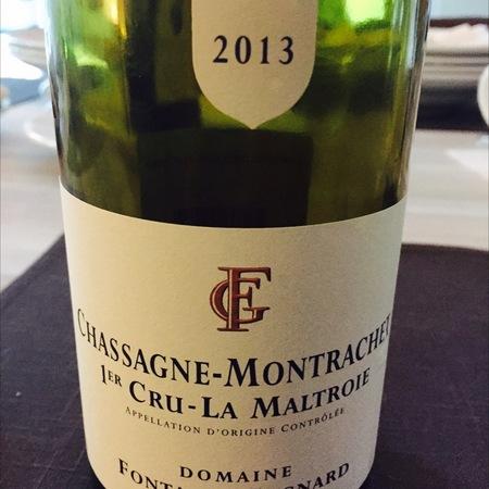 Domaine Fontaine-Gagnard La Maltroie Chassagne-Montrachet 1er Cru Chardonnay 2013