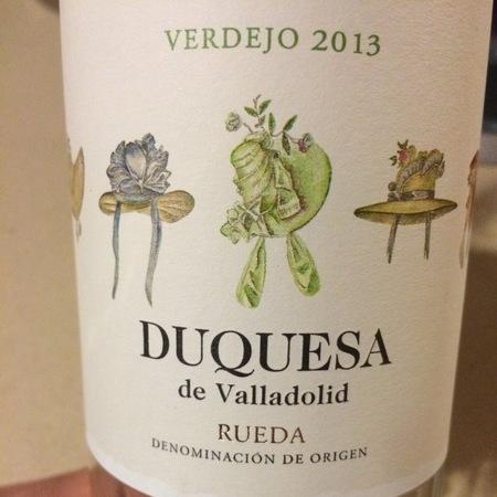 Duquesa de Valladolid Rueda Verdejo 2016