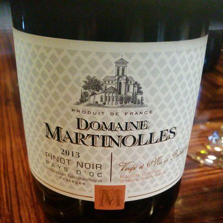 Domaine de Martinolles Vin de Pays D'Oc Pinot Noir 2016