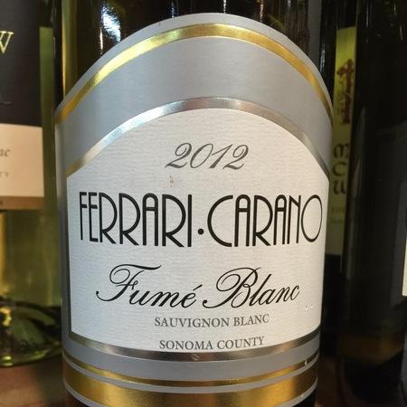 Ferrari Carano Sonoma County Fumé Blanc Sauvignon Blanc 1998