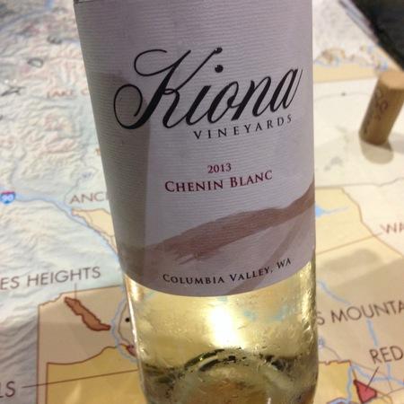 Kiona Vineyards Columbia Valley Chenin Blanc  2015