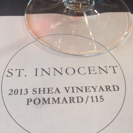 St Innocent Winery Shea Vineyard Pinot Noir 2013