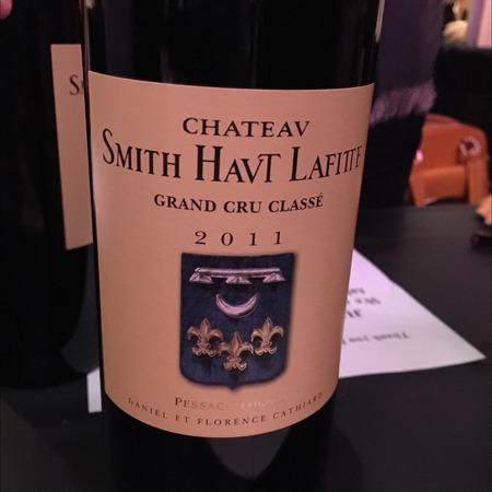 Château Smith Haut Lafitte Pessac-Léognan Red Bordeaux Blend 2011