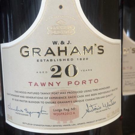 W. & J. Graham's Aged 20 Years Tawny Port Blend NV (375ml)