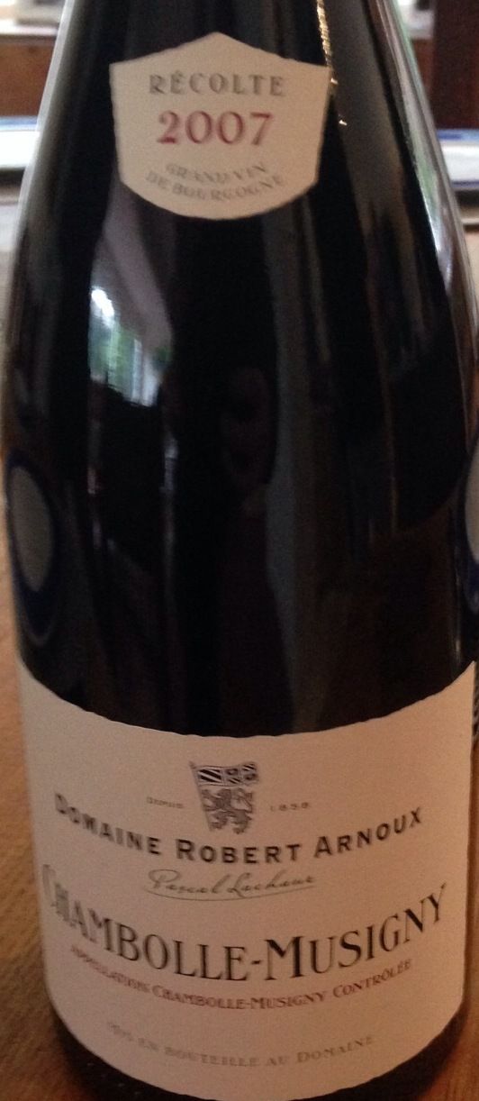 Chambolle-Musigny Pinot Noir 2007