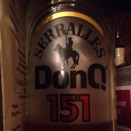 Destileria Serrallés Don Q 151 Serralles Rum NV