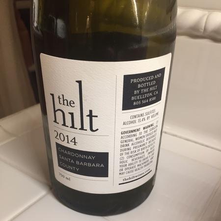 The Hilt Chardonnay 2014
