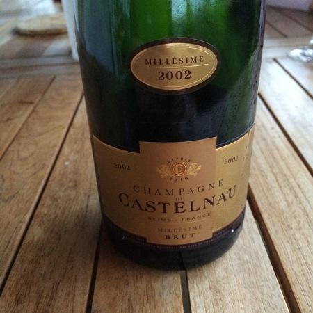 De Castelnau Millesime Brut Champagne Blend 2002