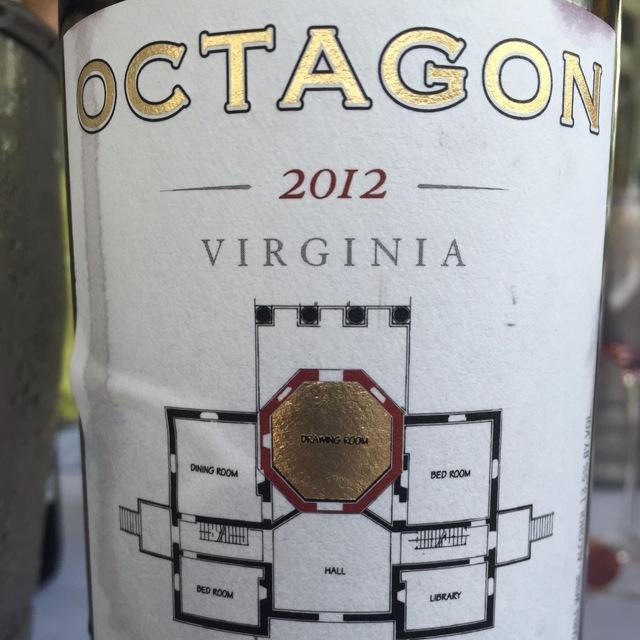 Octagon Red Bordeaux Blend 2012