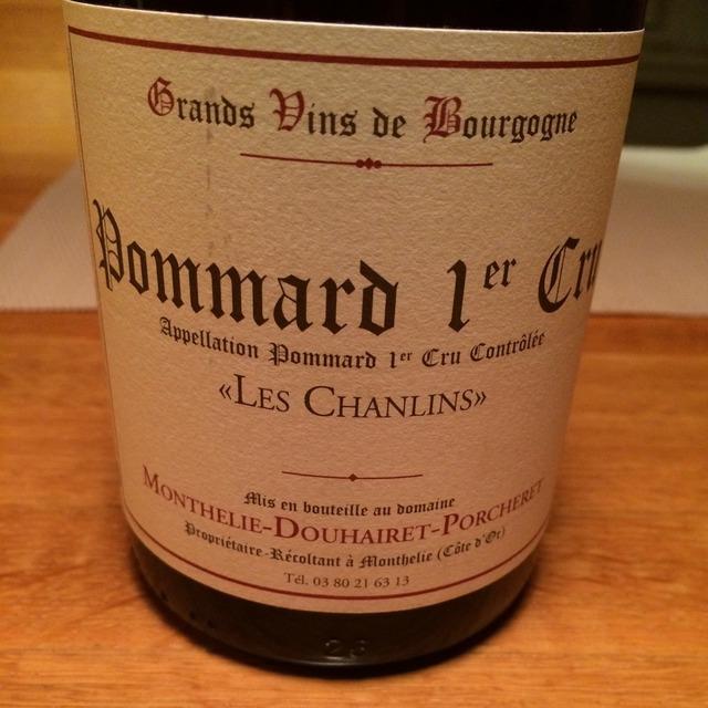 Les Chanlins Pommard 1er Cru Pinot Noir 2010