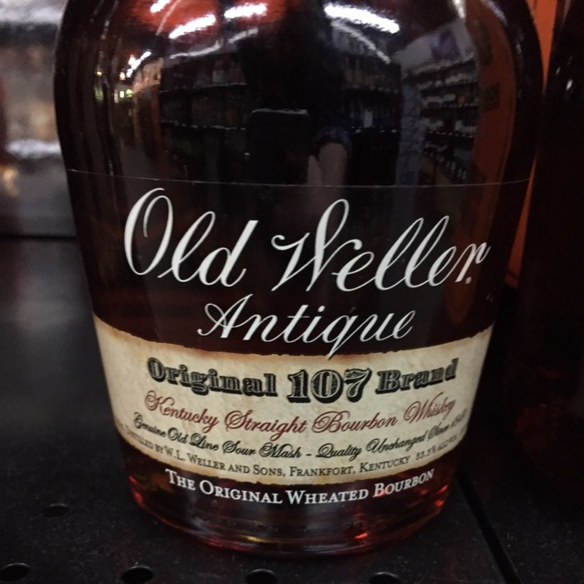 Old Weller Antique Original 107 Brand Wheated Kentucky Straight Bourbon Whiskey NV