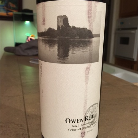 Owen Roe DuBrul Vineyard Cabernet Sauvignon 2013