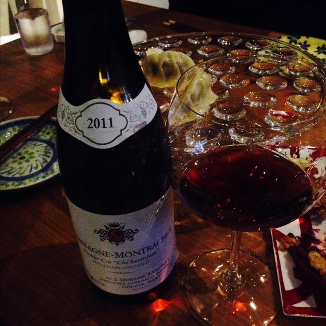 Clos St. Jean Chassagne-Montrachet 1er Cru Pinot Noir 2011