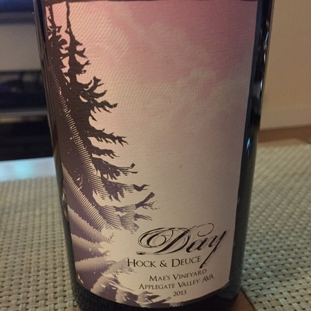 Day Wines Hock & Deuce Mae's Vineyard Syrah Blend 2014