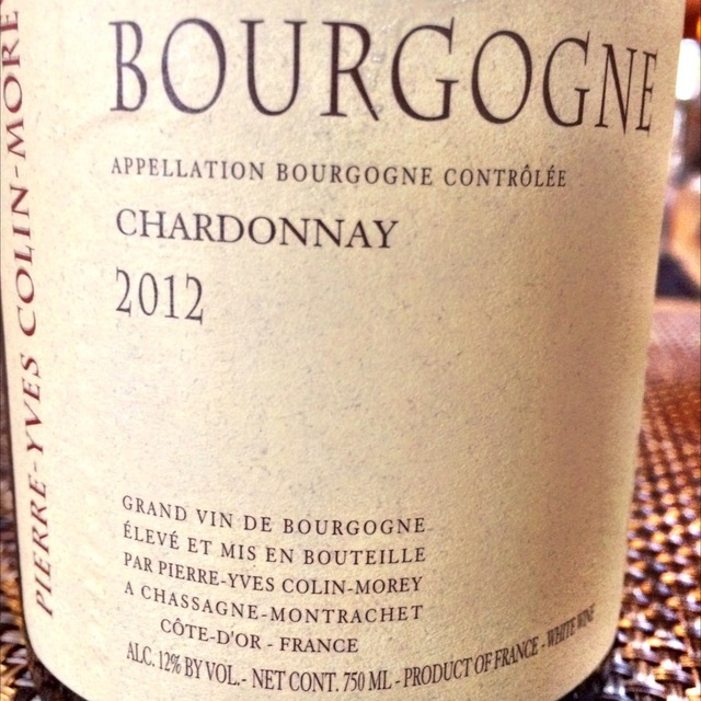 Bourgogne Blanc Chardonnay 2014