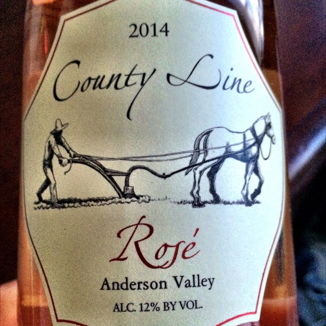 Anderson Valley Pinot Noir Rosé  2014