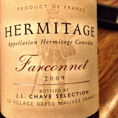 Domaine Jean-Louis Chave Farconnet Hermitage Syrah 2009