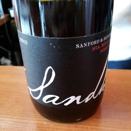 Sandhi Wines Sanford & Benedict Sta. Rita Hills Pinot Noir 2012