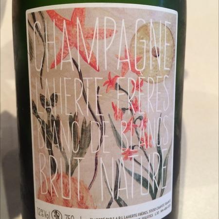 Laherte Frères Brut Nature Blanc de Blancs Champagne Chardonnay
