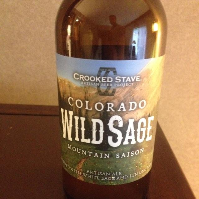 Colorado Wild Sage Mountain Saison NV