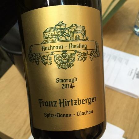 Franz Hirtzberger Hochrain Smaragd Riesling 2014