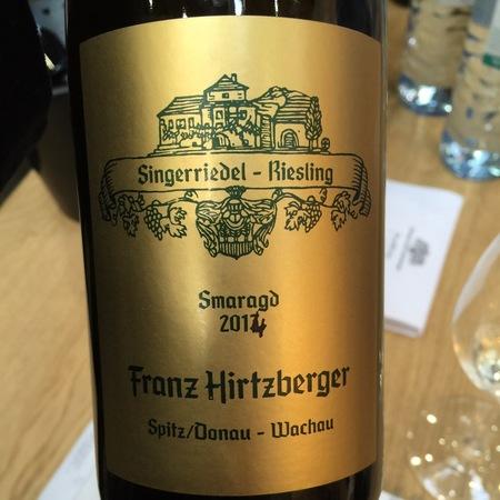 Franz Hirtzberger Singerriedel Smaragd Riesling 2014