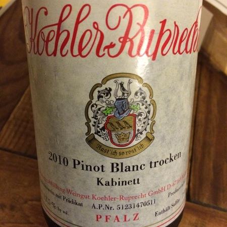 Koehler-Ruprecht Kabinett trocken Pinot Blanc NV