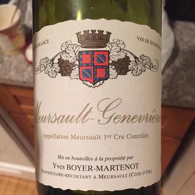 Meursault-Charmes 1er Cru Chardonnay 2013