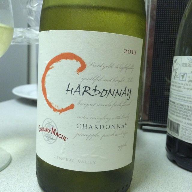 Central Valley Chardonnay 2013