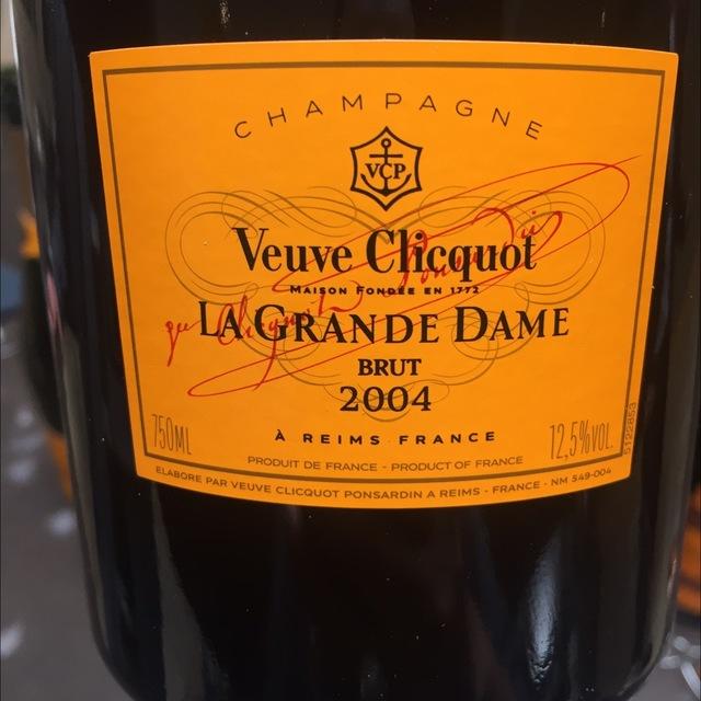 La Grande Dame Brut  Champagne Blend 2004