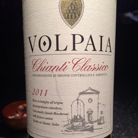 Castello di Volpaia Chianti Classico Sangiovese Blend 2014