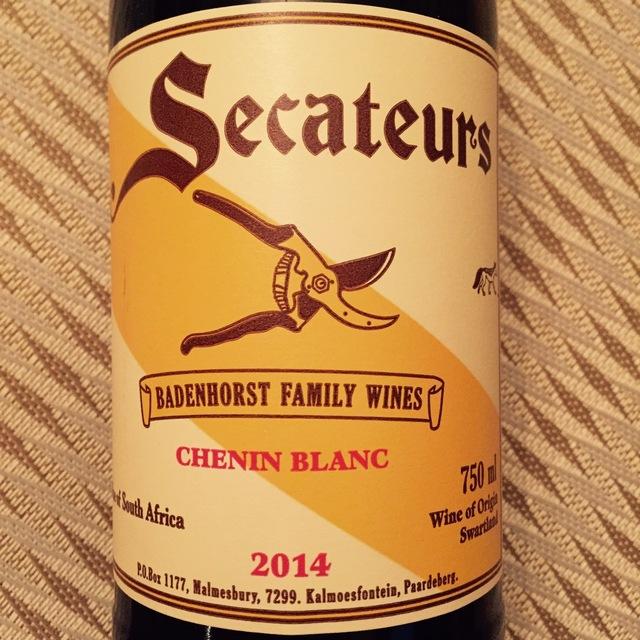 Secateurs Swartland Chenin Blanc 2014