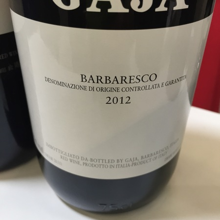 Gaja Barbaresco Nebbiolo 2012