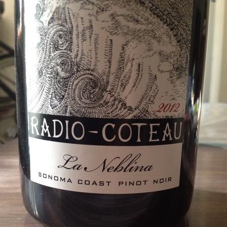 Radio-Coteau La Neblina Sonoma Coast Pinot Noir 2014
